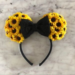 Sunflower Disney Minnie Ears Headband